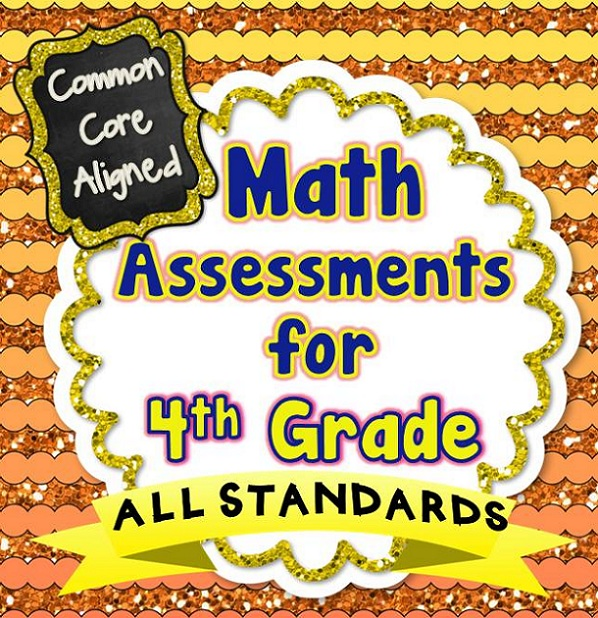 4th Grade Common Core Math Assessments – Beth Kelly
