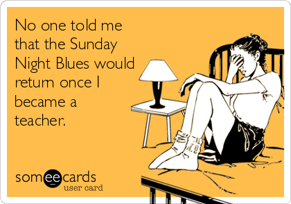 Sunday Night Blues