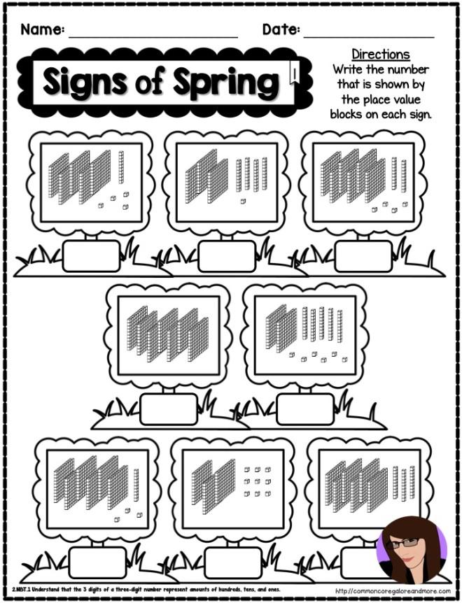 Spring-Math-Printables